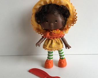 ORANGE BLOSSOM Original Vintage Strawberry Shortcake Doll