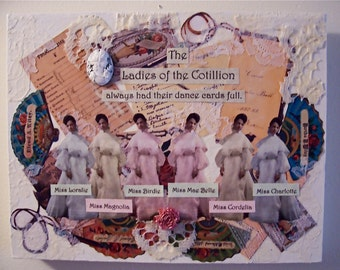 The Ladies of the Cotillion Always Had Their Dance Cards Full