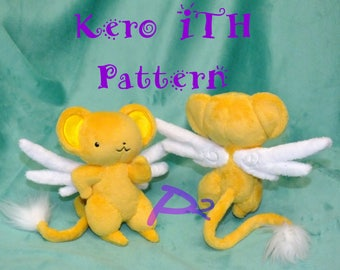 Pattern for Kero -In The Hoop Hybrid Pattern and Printable Pattern-