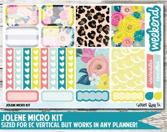 Jolene Micro Kit Planner Stickers