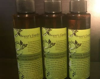 Natural Linen and Air Spray - Home and Living - Room Spray - Eco Home Clean Products -  Eco Etsy - Home Gifts - Home Aromatherapy