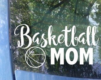 Basketball Mom Decal | Sports Mom | Basketball Mom Car Decal | Basketball Mom Sticker | Sports Mom Decal | Sports Sticker | Hoops Mom