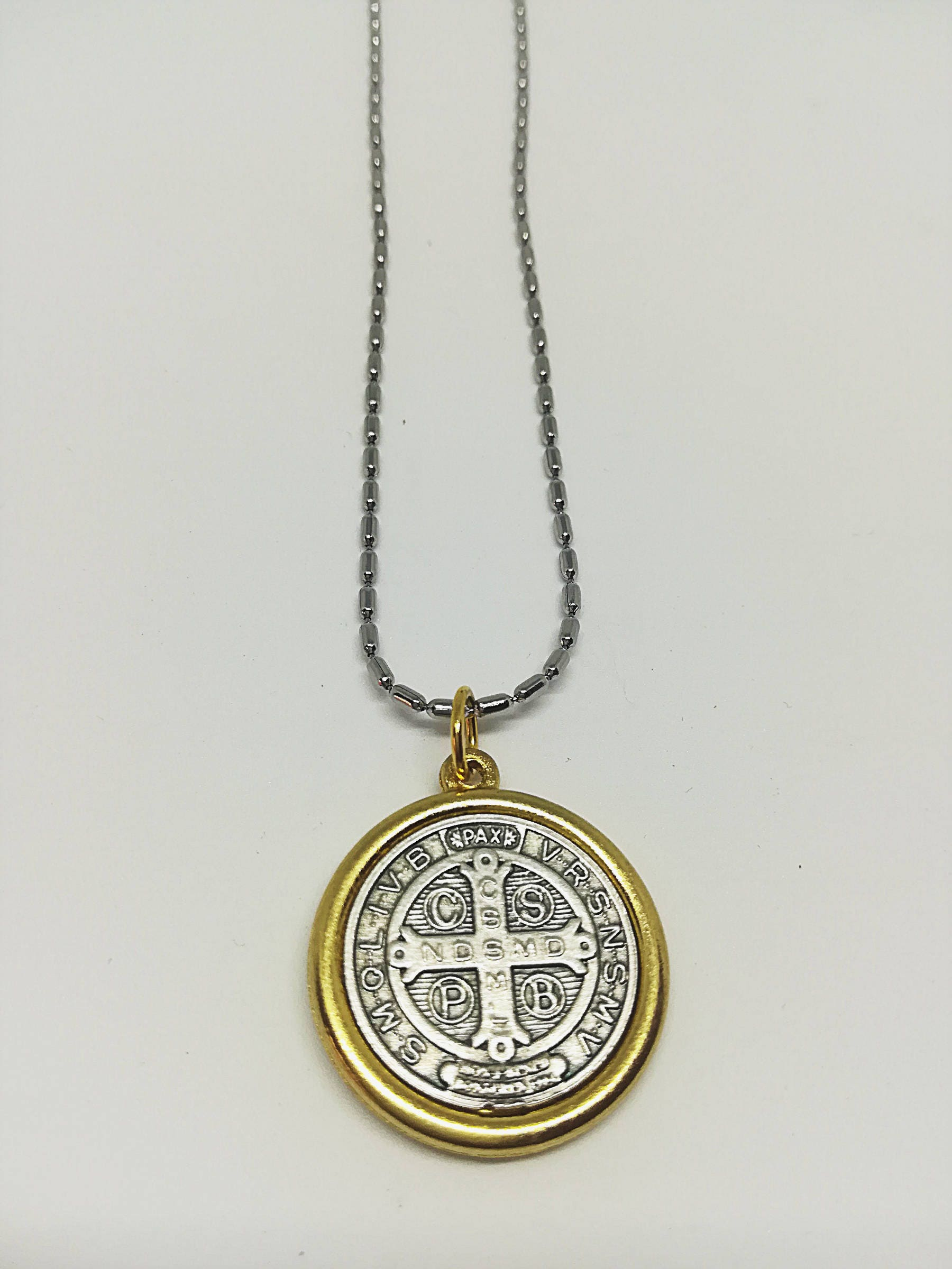 buy saint com on product medallion christopher catholic medal detail st alibaba medals benedict