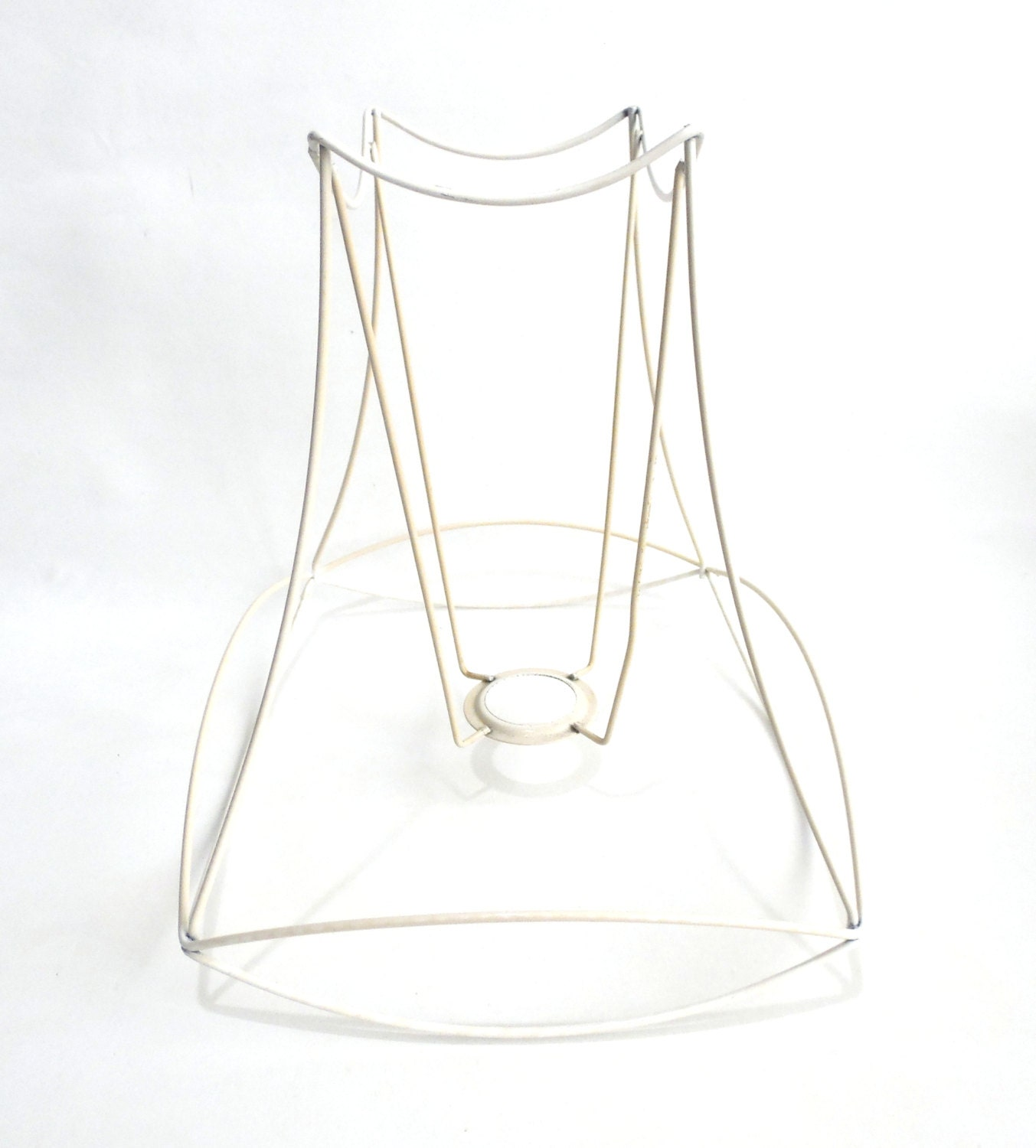 Lampshade frame wire frame authentic vintage lampshade wire frame lampshade frame diy 642gafk19 sold by theantiqueapplique keyboard keysfo Images