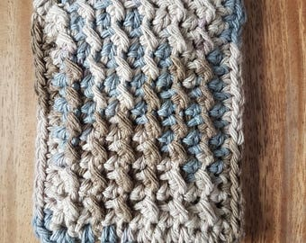 Double sided hemp Scrubbing Sponge Pattern