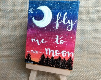 MINILIENZO fly me to the moon
