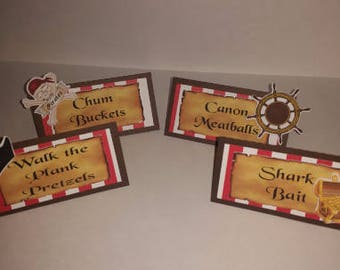 Pirate Table Tents
