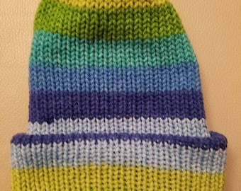 Handmade Double Knitted Hat