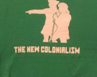 Gentrification the New Colonialism Long Sleeve Screen Print T-shirt in Mens or Womens Sizes S-3XL