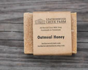 Oatmeal and Honey Goat Milk Soap