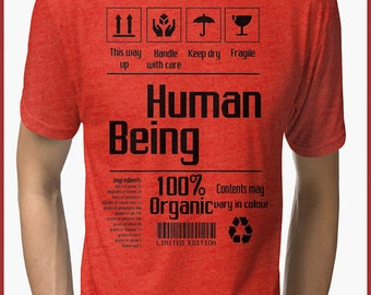 Full metal alchemist style human  Tri-blend T-Shirt