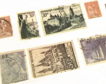 Stamps Washi Tape, Vintage Stamps Washi Tape, Postage Stamps Washi Tape