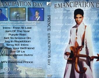 Prince Emancipation Tour Special Live 1996 DVD Rare Pro-Shot
