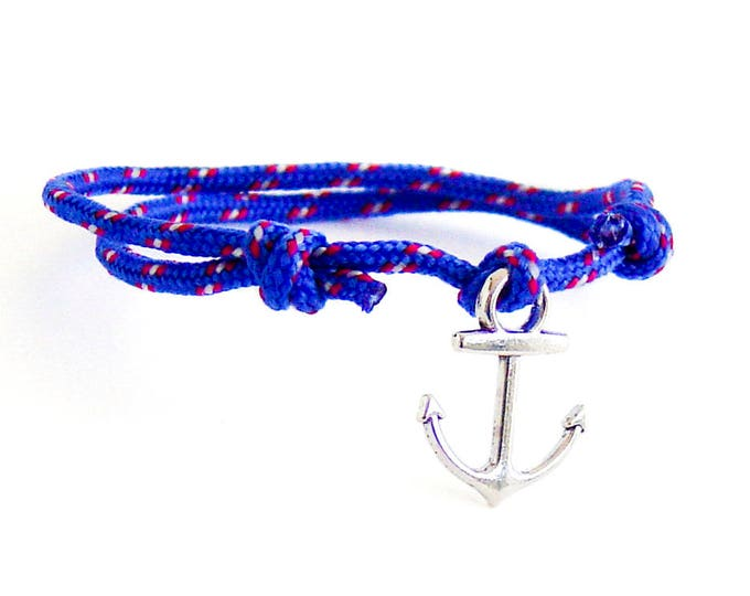 Gift For Men, Husband Gift, Gift For Husband, Husband Birthday Gift. Rope Anchor Bracelet