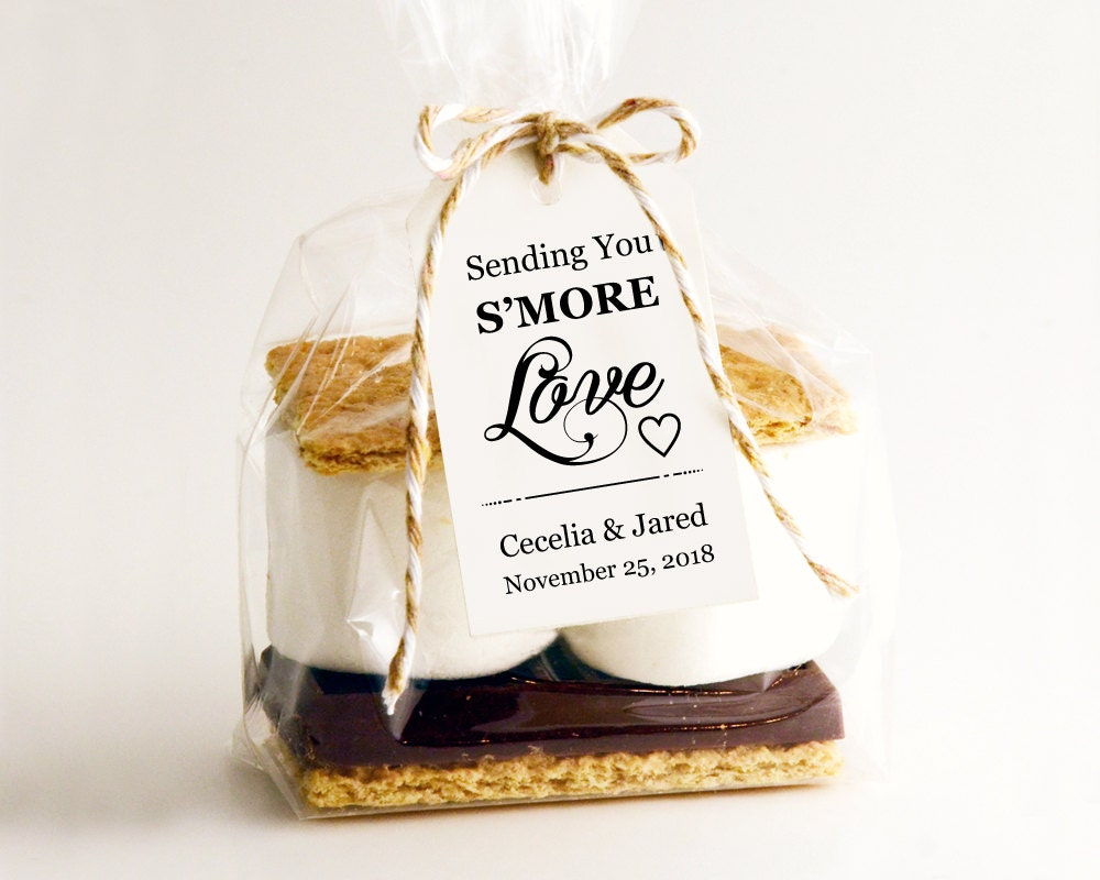 Smores Wedding Favor S\'mores Wedding Wedding Favors