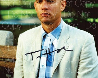 Forrest Gump signed 8X10 photo picture poster autograph RP