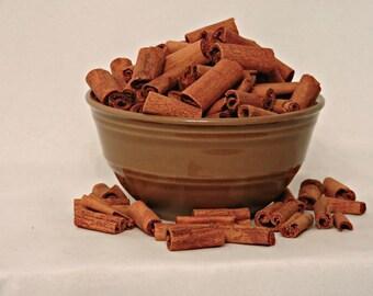 8 ounces Unscented 1 inch Cinnamon Sticks, 1/2 pound, unscented, Potpourri, bowl filler, dried, fall decor, bulk cinnamon sticks