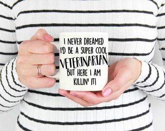 Veterinarian Coffee Mugs, Funny Veterinarian Mug, Veterinarian Coffee Mug, Veterinarian Gift, Veterinarian Mugs, Gift for Veterinarian, Cup