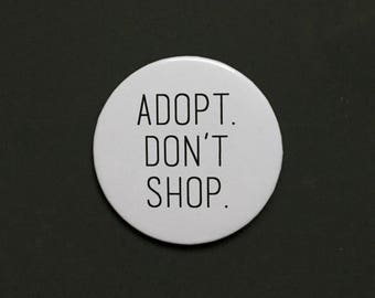 Adopt Don't Shop | Rescued Pets | Shelter Pets | Bunny Pin | Rabbit Pin | Rabbit Lady | Bunny | Rabbit
