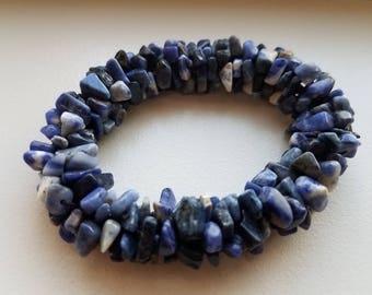 Lapis Stone Bracelet