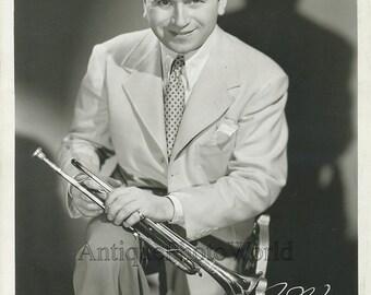 Charlie Spivak jazz trumpet bandleader antique photo
