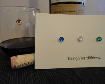 Magnetic Wine Charms - Set of 4