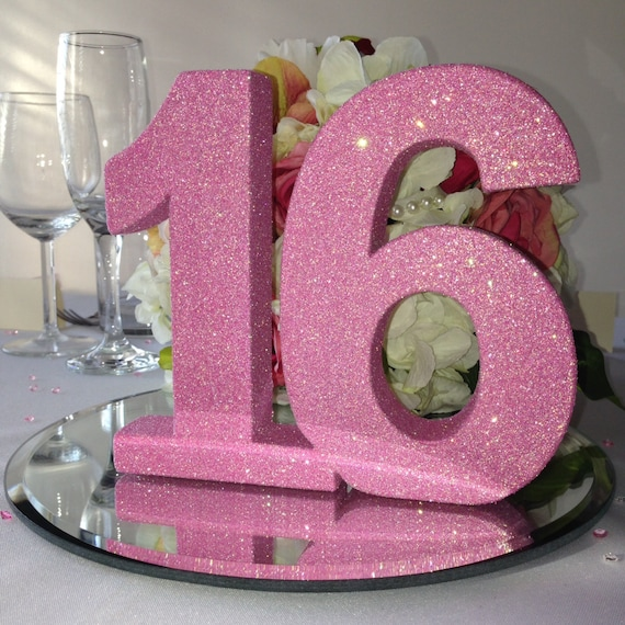 Sweet 16 Birthday Party Decoration Princess Party Glitter
