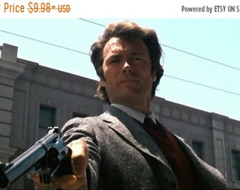 Spring Sales Event: Dirty Harry 1971 Drama/Thriller Clint Eastwood Movie POSTER