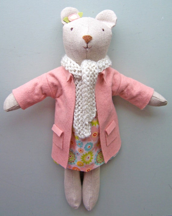 doll clothes pattern, bear clothes pattern, teddy bear clothes, doll ...
