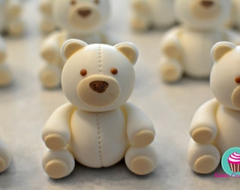 Teddy Bear Cupcake Toppers (2)