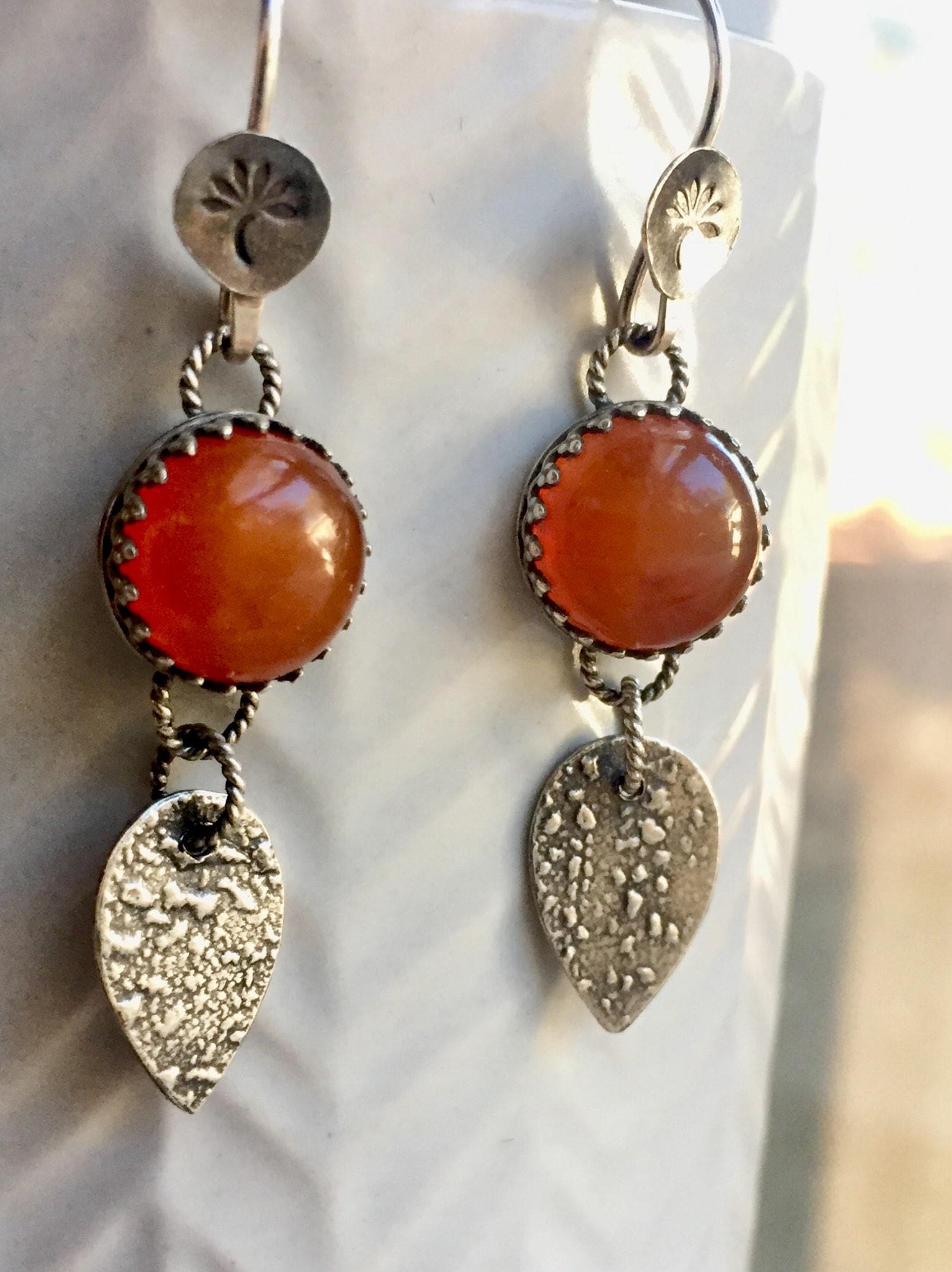 carnelian rock ippolita metallic earrings karat fullscreen gold in view lyst candy jewelry