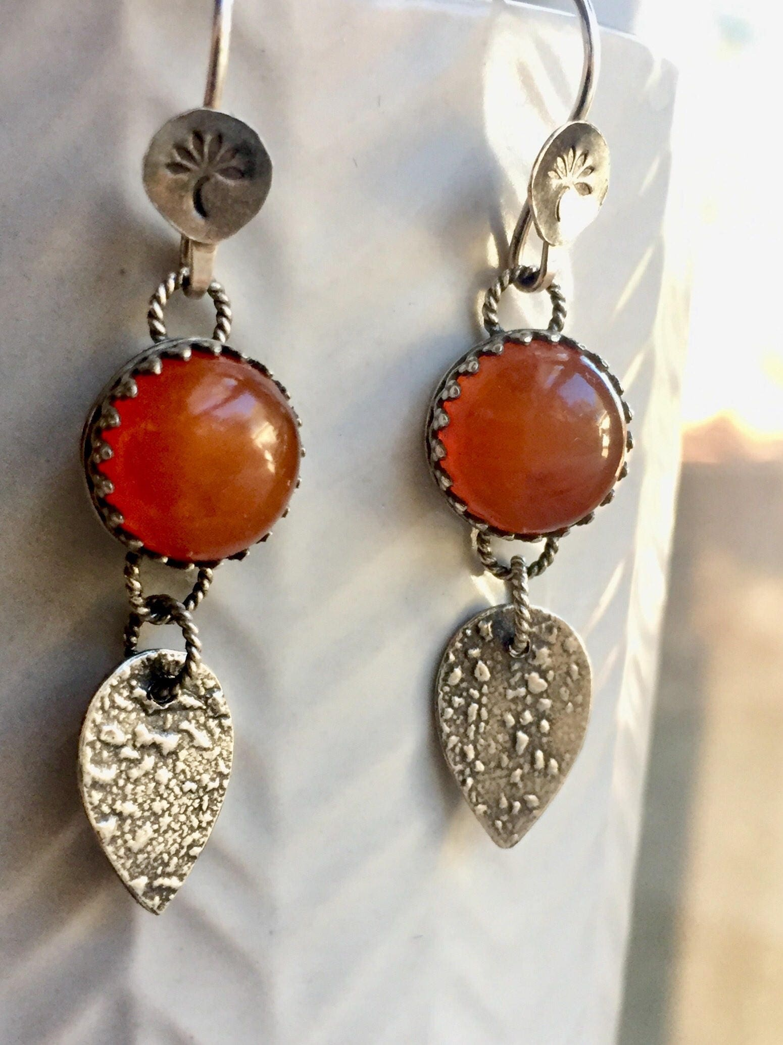 creations products gallery earrings and carnelian aventurine jewelry