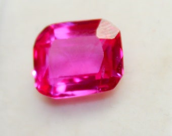 11x9x5 mm Natural Cushion Shape Faceted Cut Transparent Pink Sapphire Loose Gemstone New Year PP 4