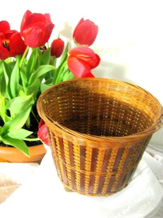 Blumentopf alte korb designer korb qualit t german rare for Blumentopf korb