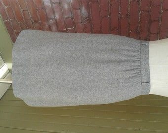 Vintage Gray Skirt by College Town Size 0