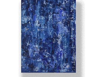 """Abstract Painting. """"Prussian White"""""""