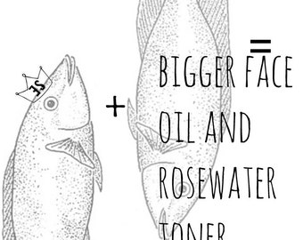 Organic Toner and Organic Facial Oil Combo Deal | Organic Rose Hydrosol | Organic Gifts | Organic Moisturizer | Organic Skin Care
