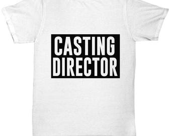 Casting Director Tee Shirt- Cool Tee Shirt Graphic Design