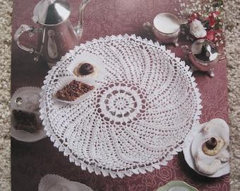 Crochet Leaflet - Picot Pinwheel - House of White Birches