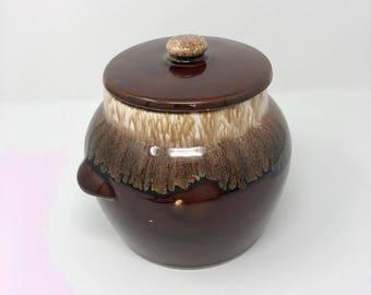 Vintage Kathy Kale Brown drip cookie jar