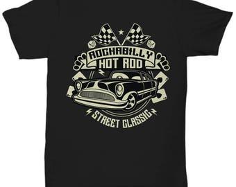 Rockabilly Hot Rod Street Classic T-shirt