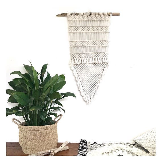 "Macrame Wall Hanging ""Mirage"""