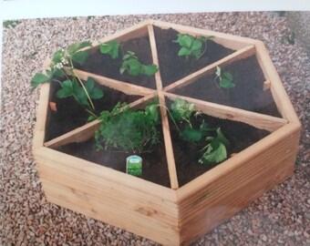 garden herb wheel