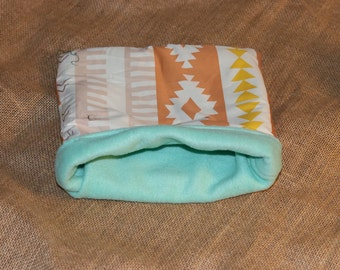 MEDIUM Aztec  pouch for small pets- Guinea pigs, Rats, Rodents, Hedgehogs, Chinchillas...