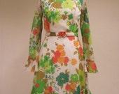Vintage 1960s, 1970s Flor...