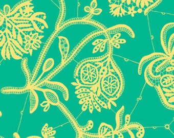 Amy Butler Fabric - 1 Metre Souvenir in Mineral / LARK