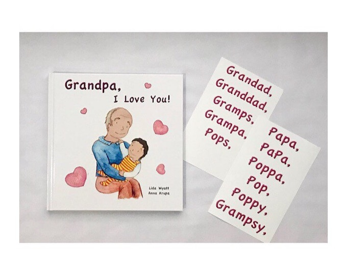 Grandpa, I Love You! -dark haired child