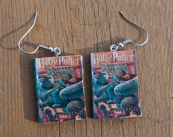Harry Potter and the Prisoner of Azkaban book Earrings