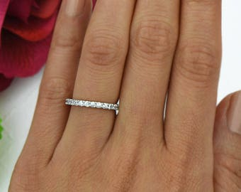 Stacking engagement ring Etsy