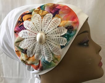 Head cover , pretied bandana, chemotherapy hat